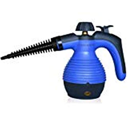 Defort elektrischer Dampfreiniger mit 3 Düsen und Messbecher, 800 W, 1 Stück, grau/orange, DSC-800