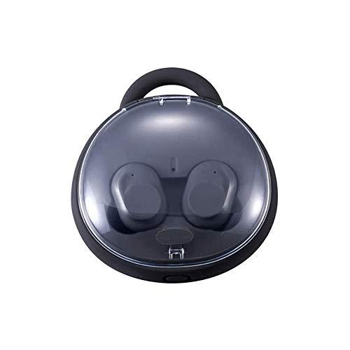 LKNJLL Bluetooth 5.0 auriculares inalámbrico con carga inalámbrica Caso IPX8 impermeable TWS Auriculares estéreo en la oreja for micrófono integrado Auriculares Premium Sound con bajos profundos for S