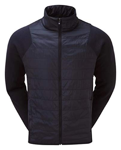 Footjoy Hybrid Jacket Isolierte Jacke, Marineblau, Standard für Herren