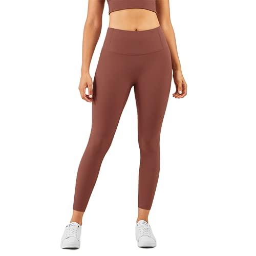 Pantalones de Yoga para Mujer Leggings sin Costuras de Cintura Alta de Secado rápido Lagartijas Deportes Fitness Correr Energía Pantalones elásticos A XL