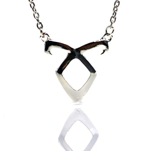 Beaux Bijoux Runen-Halskette–Anhänger nach Design aus Chroniken der Unterwelt, Clary Fray