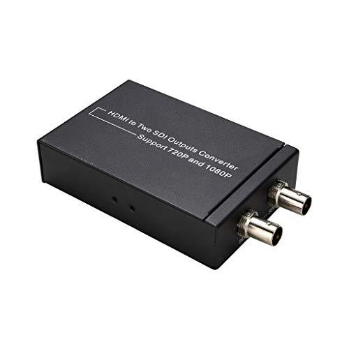 Xmiral HDMI 4X1 Quad Multi-Viewer 1080P 4 in 1 out Switch Schermo HDMI con 5 modalità (10 x6.5X 2.5cm,Nero)