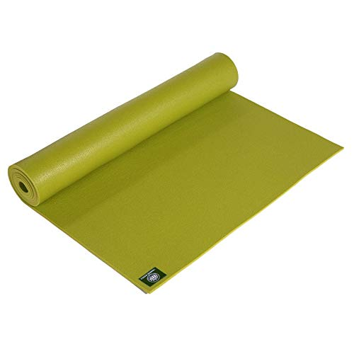 Lotus Design Yogamatte ÖKOTEX extra lang, rutschfest, Yogamatten XL extra groß, auch als Pilatesmatte, Gymnastikmatte u. Fitnessmatte geeignet, 3mm Dicke, 200x60 cm, Yoga Matte 3 mm Made in Germany