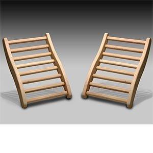 Dynamic Hemlock Sauna Backrest 2-pack