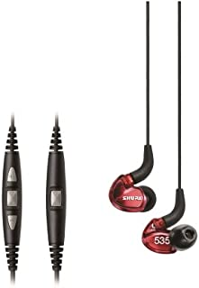 Shure SE535LTD Limited Edition Red Sound Isolating Earphones with Remote + Microphone