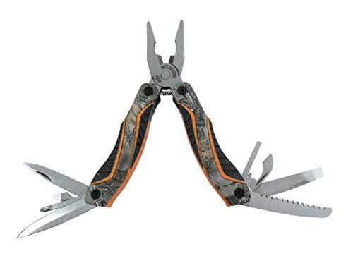 AceCamp 13 en 1 Pince multioutils multifonction avec décapsuleur, couteau, tournevis, scie, uzw. Pince multifonction.