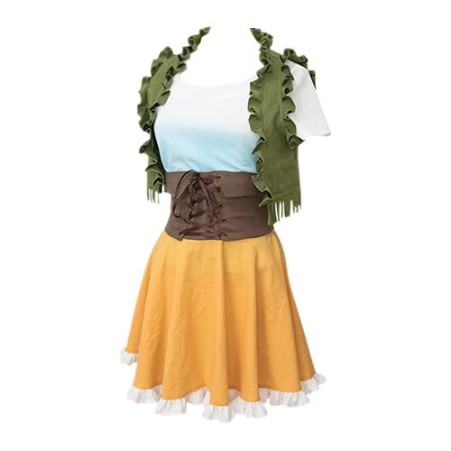 VERSRH Pediré prestado su traje de cosplay de Nanami Mami, trajes de disfraces diarios de anime para la exhibición de anime