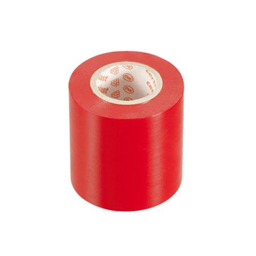 PVC Isolierband Klebeband 10 Meter lang 50 mm breit -rot-