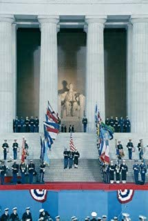 HistoricalFindings Photo: 1989 Presidential Inauguration, George H. W. Bush, Opening Ceremonies, at Lincol