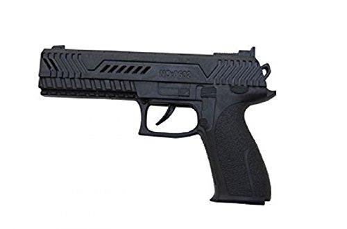 P'tit Clown 74560 Pistolet Automatique - Plastique - 21 cm - Noir