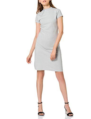 Intimuse Damen Kleid, Grau (Hellgrau Melange 077), 36 (Herstellergröße: S)