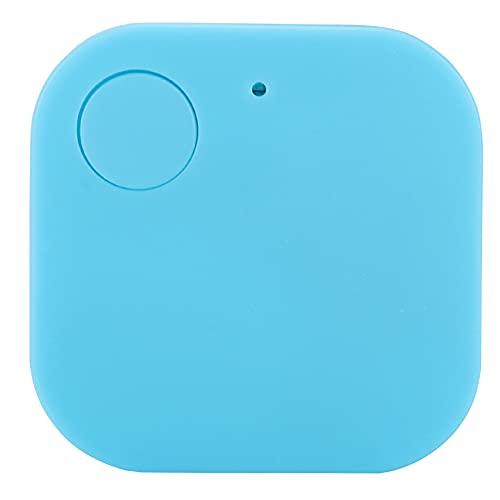 Buscador de Llaves, localizador Cuadrado Bluetooth Anti-perdida Bluetooth 4.0 Dispositivo de rastreo GPS Bluetooth GPS Tracker, para Llaves Teléfono Monedero Mascotas