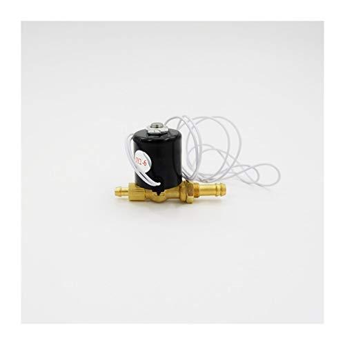 Lichtbogenschweißmaschine Magnetventil SVZ-2.2 AC DC 24V 36V 220V 2 Position 2-Wege-Magnetventil Einfach zu bedienen (Specification : Orifice 2.2, Thread Type : B type)