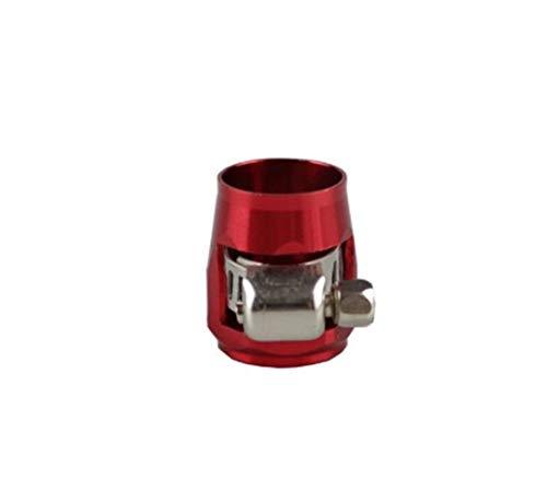 válvula de bola Adaptador de la abrazadera RASTP- AN6 16mm manguera de combustible tapa final Aluminio Anodizado Montaje de instrumentos accesorios Piezas RS-TC008-AN6 kit de reparación de mangueras