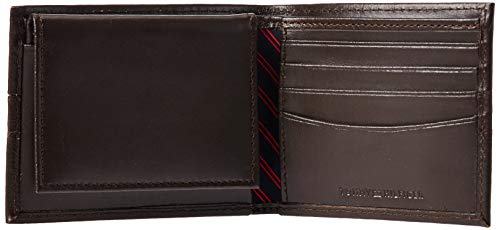 Men's Leather Wallet – Slim Bifold with 6 Credit Card Pockets and Removable Id Window