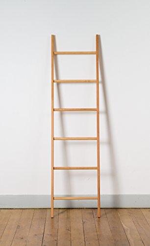 Escalera de Madera Maciza Decorativa o como Perchero