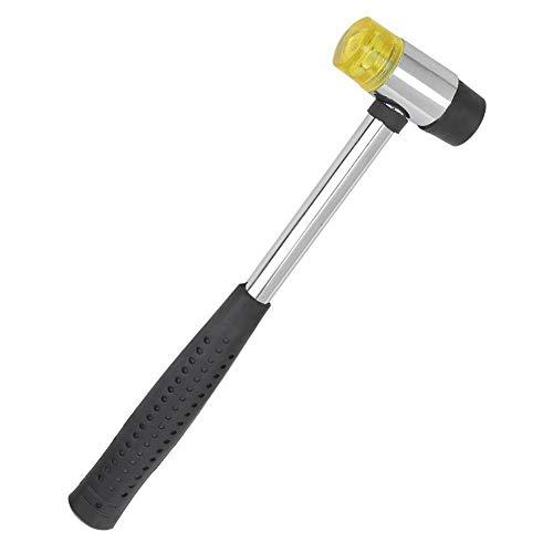 Hamer voor gitaar, antislip, om te knutselen, dubbele kop van rubber, multifunctioneel