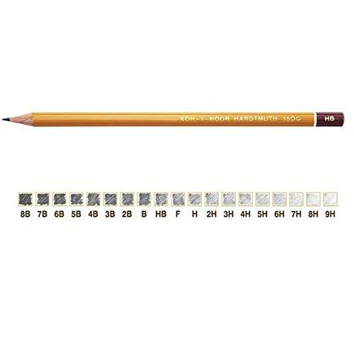 KOH-I-NOOR 12 potloden H1500 4b koh.