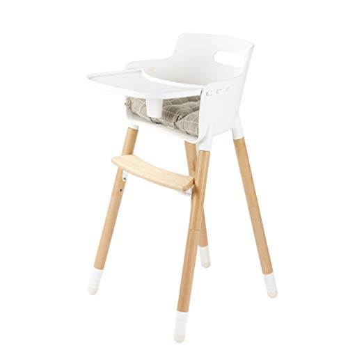 Affordable DUWEN High Chair Children's Dining Chair Solid Wood Dining Table Multifunctional Child Se...