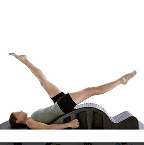 Tbagem-Yjr Corrector De Columna De Pilates, Cuña De Espuma Corrector De Columna Barril Alivio del Dolor De Espalda