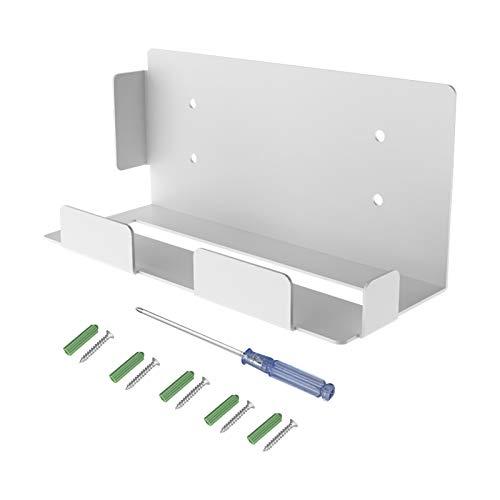 Soporte de pared para consola PS5, Accesorios PS5, Compatible con la consola ps5, Soporte de pared con rejillas de ventilación, Soporte de pared PS5 de metal sólido, (con destornillador y tornillos)
