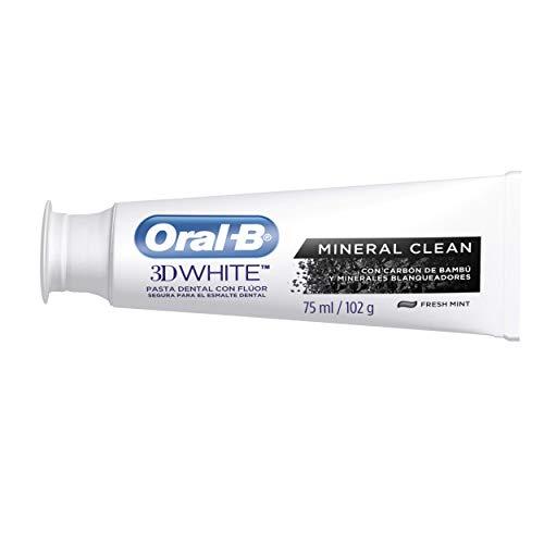 Creme Dental Oral-B 3D White Mineral Clean Fresh Mint 102g, Oral B