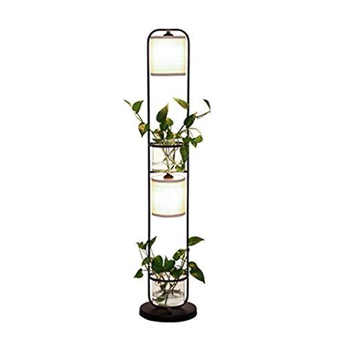 Creatieve staande lamp woonkamer bedlampje slaapkamer verlichting plant sofa verticale tafellamp staande lamp
