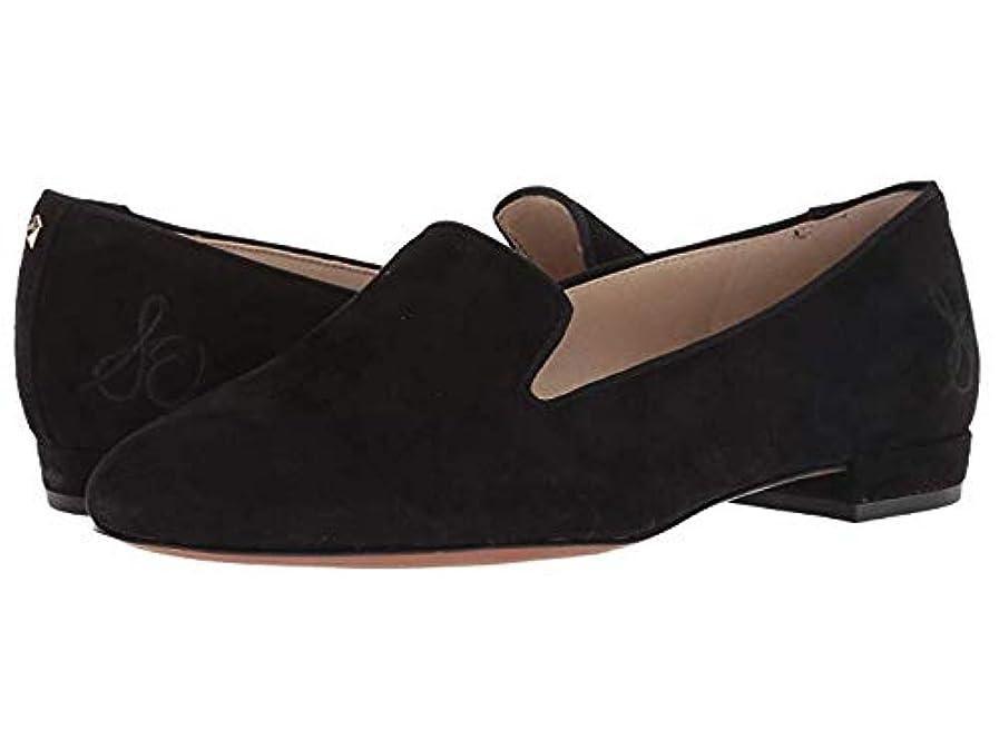 ファウルリーダーシップ退屈[Sam Edelman(サムエデルマン)] レディースローファー?靴 Jordy Black Kid Suede Leather (27.5cm) M [並行輸入品]