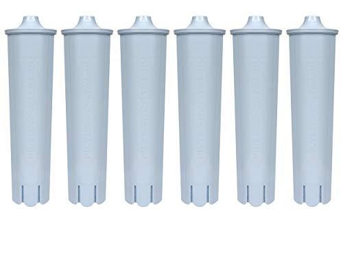 6 Filterpatrone kompatibel Jura Claris Blue Filterkartuschen Filter Patrone Wasser Filter Kartusche JURA Kaffeemaschine Kaffeevollautomat Impressa, Giga 5, ENA Micro