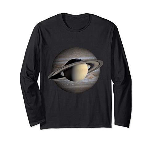 Jupiter Saturne Conjonction 2020 - Cadeaux d'astronomie Manche Longue