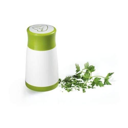 Generique Moulin à Fines Herbes Vert/Blanc 13 cm