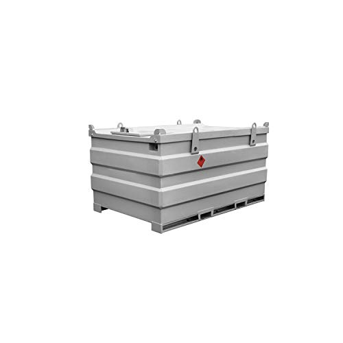 MobiSTEEL 26 789 - Depósito de agua (3000 L, doble pared, acero, 230 V, 60 L)