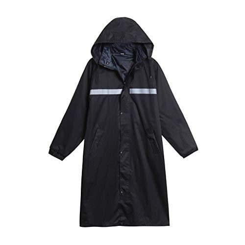 Impermeable Sportswear Hombre y Mujer Largo Adulto de una sola pieza impermeable para caminar al aire libre grueso impermeable para montar equipo de lluvia para acampar al aire libre viaje