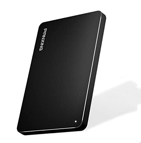 externos Disco Duro móvil - Disco Duro Seguro Portátil | Resistente al Polvo - Cifrado Hardware - 2TB - Adecuado para PC de Escritorio, portátil, Smart TV, etc.-1TB||Black