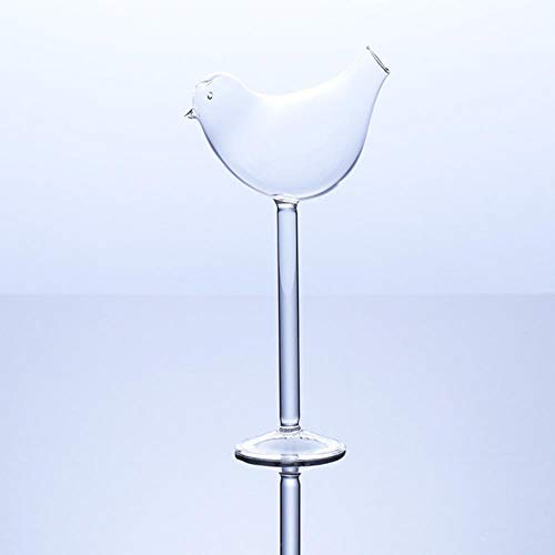 INS creatieve vogel moleculaire gerookte cocktail glas beker bar disco nachtclub partij DIY versieren champagne fluiten grappige wijnbeker 135ml Vogel Cocktail Glas