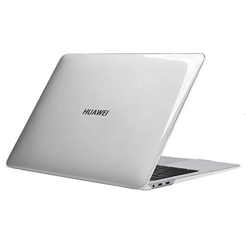 MOSISO Hülle Nur kompatibel mit Huawei MateBook X Pro 13,9 Zoll Laptop 2019 2018 Freisetzung, Schutz Plastik Hartschale Schutzhülle, Kristall Klar