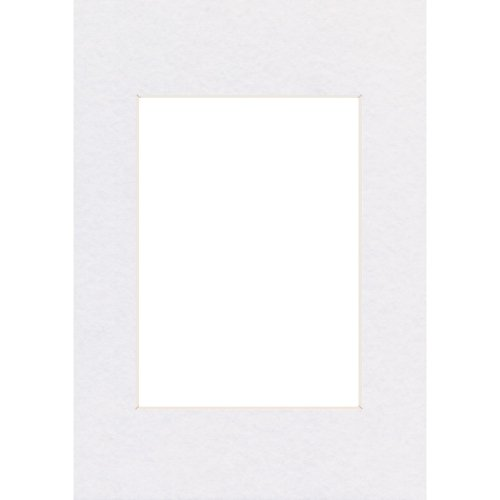 Hama Premium Passepartout (30 x 45 cm, für Bilder im Format 20 x 30) arktisweiß