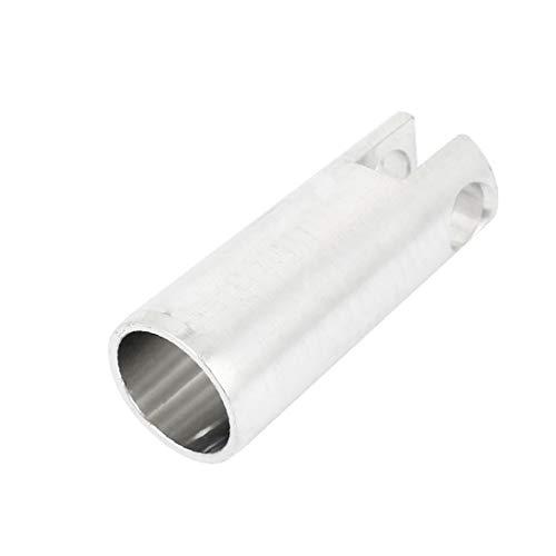 X-DREE Pistón de martillo eléctrico de aluminio en tono plateado para taladro de impacto for bosch 26(Silver Tone Aluminum Electric Hammer Piston for for bosch 26 Impact Drill