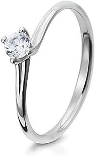 0b3a34f81aa6 Amazon.es: Zirconia anillos de compromiso - Oro blanco: Joyería