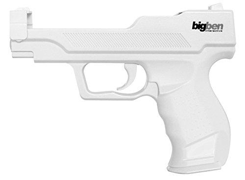 Big Ben Wii Gun - accesorios de juegos de pc (Color blanco,...