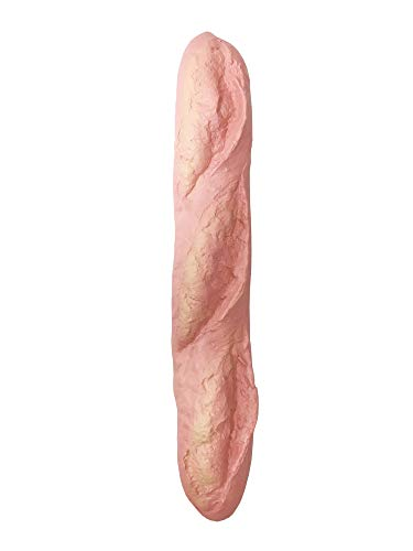 iBloom Le Pain Francais Realistic Bread Slow Rising Jumbo Squishy Toy (Fraise, Strawberry Scented) for Party Favors, Stress Balls, Birthday Gifts