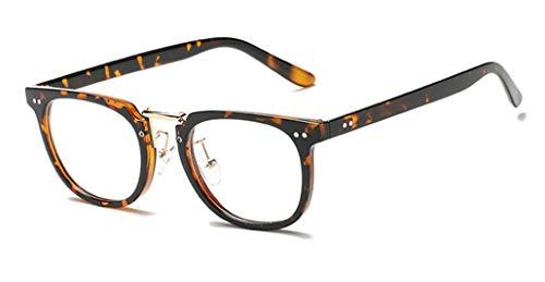 Preisvergleich Produktbild Klassische Style brillengestelle Vintage Wild Eleganz Brille Vintage Rahmen Spiegel Brillengestell Flache Gläser
