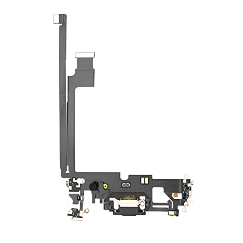 Best Shopper - Replacement Charging Charge Port Flex Cable with Microphone for Apple iPhone 12 Pro Max - Pacific Blue