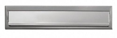 Arregui C-601 Bocacartas de Acero, Inoxidable Espejo, 23 x 3 cm