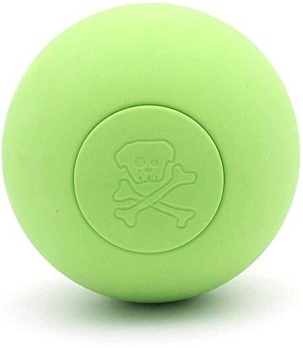 Hinleise Disco volador para perros pequeños, medianos o grandes, disco de goma suave natural de seguridad para jugar al aire libre e interior