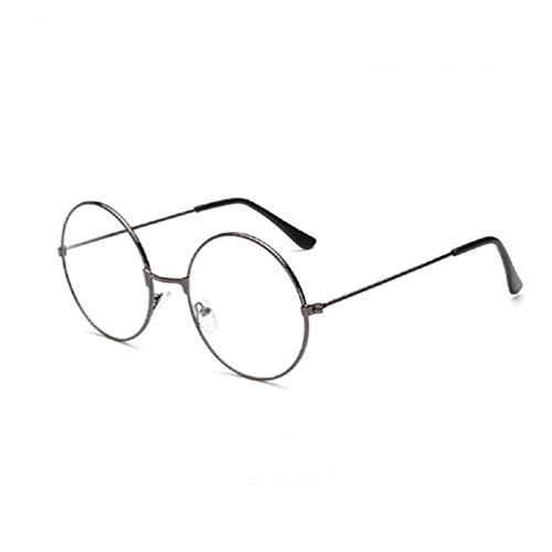 KESYOO Óculos Redondos Retrô Óculos Bloqueadores de Luz Azul Óculos Anti-Luz Azul Proteção Contra Luz Azul para Leitura de Jogos de Computador Óculos para Homens