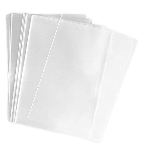 100bolsas de celofán transparente para envolver regalos, fiestas, regalos de boda, bocadillos, galletas, dulces u otras aplicaciones de cocina y del hogar (22 x30cm)