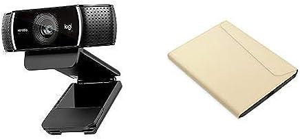 Logitech C920 HD Pro Webcam, Videochiamate e Registrazione Full HD 1080p con 2 Microfoni con Audio S + Kobo Sleepcover - e-book reader cases - Trova i prezzi più bassi