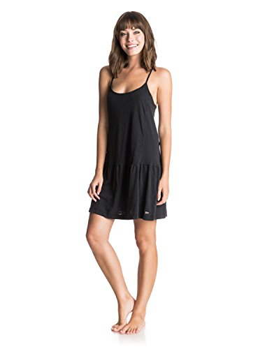 Roxy Damen Kleider Pacific State J Ktdr, True Black, XL, ARJKD03035-KVJ0