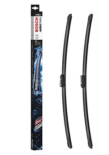 Bosch Balais d'essuie–glace plats Aerotwin A636S, Longueur: 650mm/650mm – 1 paire de balais avant